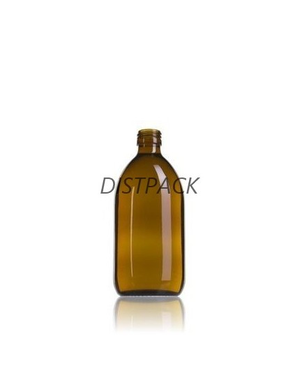 Glass Syrup 250ml Amber