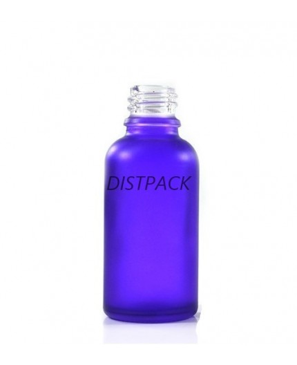 Glass bottle purple.