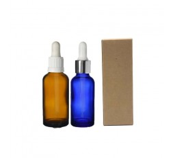 Kraft box for small bottles., for glass bottles dropper.