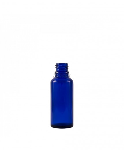 Flascó de vidre 50ml Dropper blau